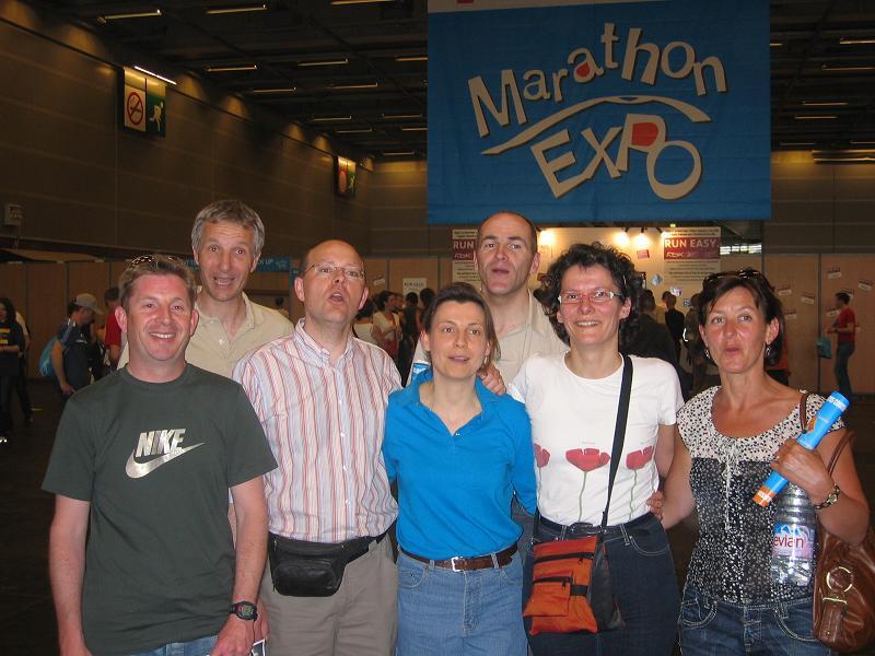 Au MArathon Expo : Retrait des dossard