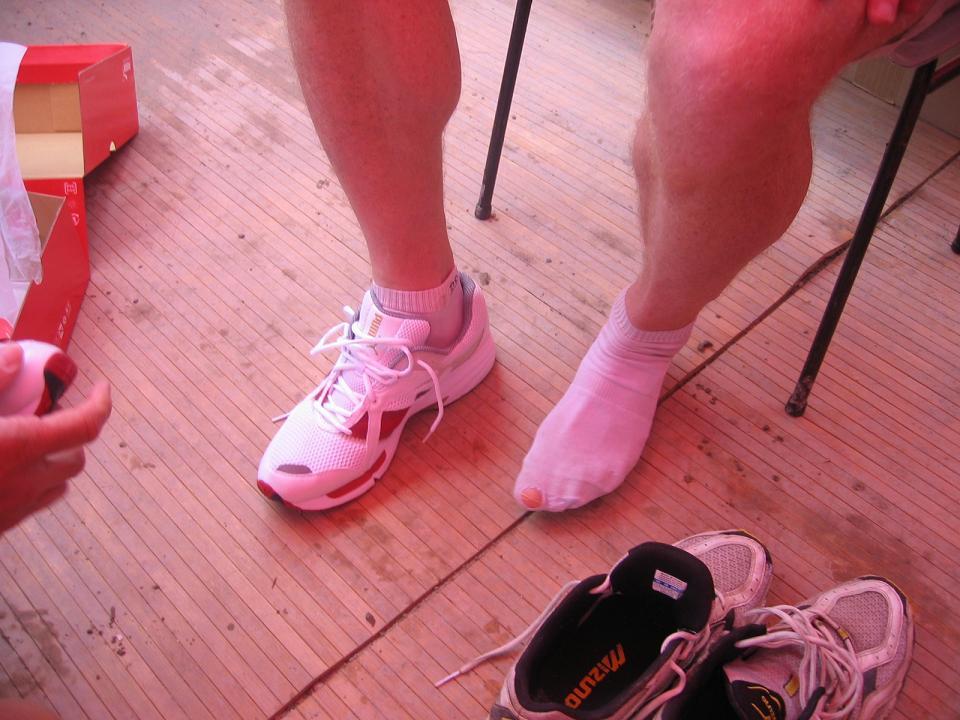 Devinette : A qui sont ces pieds ?