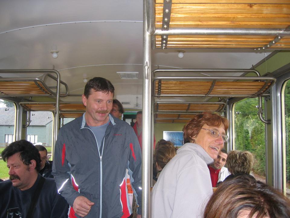 Dans le petit train